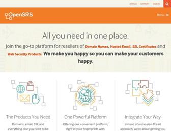Thumbshot of Opensrs.net