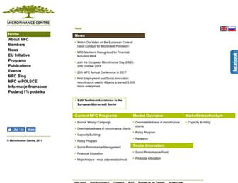 mfc.org.pl screenshot