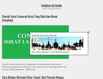 titikdua.net screenshot