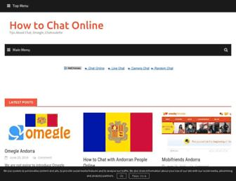 howtochatonline.net screenshot