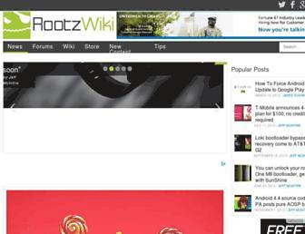 Thumbshot of Rootzwiki.com