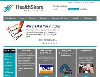 Main page screenshot of ghccu.org