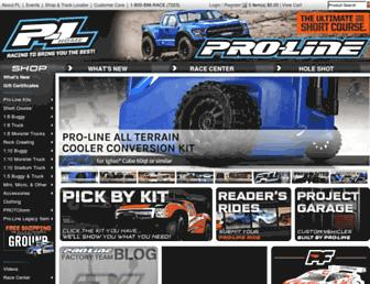 Thumbshot of Prolineracing.com