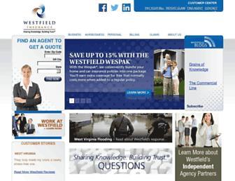 westfieldinsurance.com screenshot