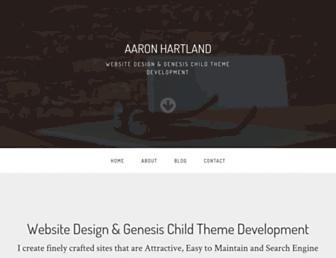 Thumbshot of Aaronhartland.com