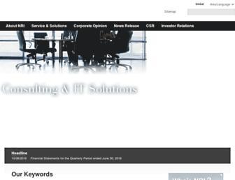 nri.com screenshot