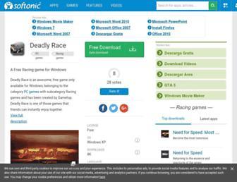 deadly-race.en.softonic.com screenshot