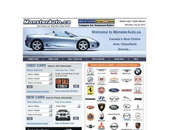Thumbshot of Monsterauto.ca
