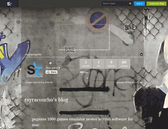 rayracourho.skyrock.com screenshot