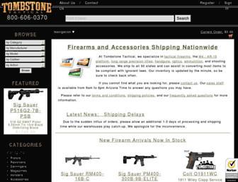 Thumbshot of Tombstonetactical.com