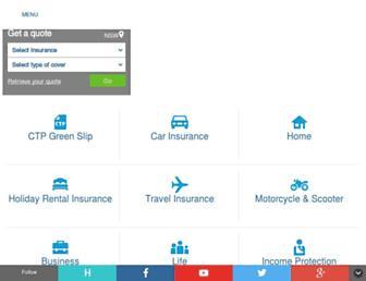 nrma.com.au screenshot