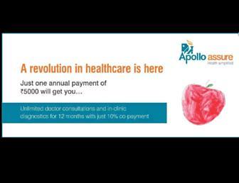 apolloclinic.com screenshot