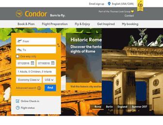 Thumbshot of Condor.com