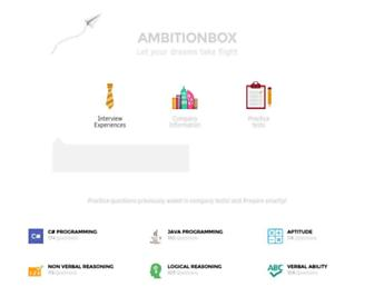 ambitionbox.com screenshot