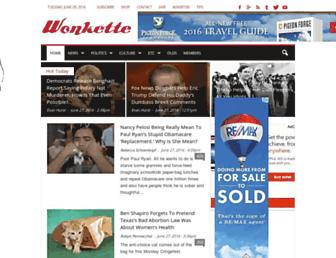 Thumbshot of Wonkette.com