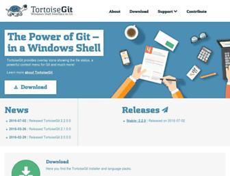 Thumbshot of Tortoisegit.org