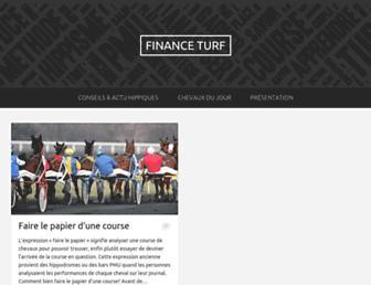 financeturf.fr screenshot