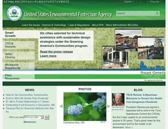 epa.gov screenshot