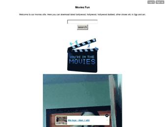 moviesfun.mobie.in screenshot