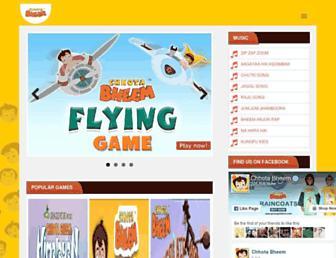 chhotabheem.com screenshot