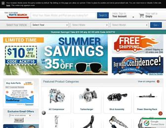 buyautoparts.com screenshot
