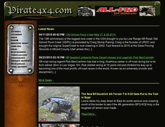 Thumbshot of Pirate4x4.com