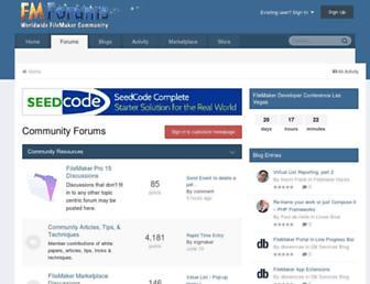 fmforums.com screenshot