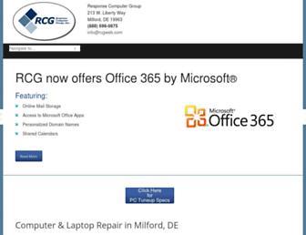 rcgweb.com screenshot
