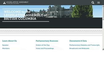 leg.bc.ca screenshot