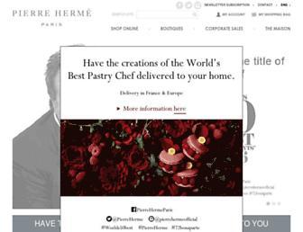 Thumbshot of Pierreherme.com