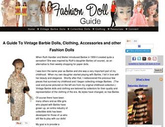 Thumbshot of Fashion-doll-guide.com