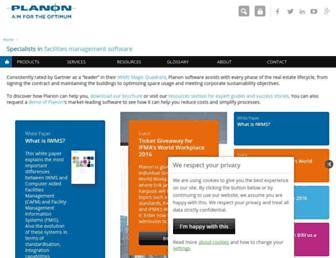 planonsoftware.com screenshot