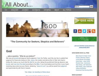 allaboutgod.com screenshot