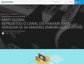 autodesk.com.br screenshot