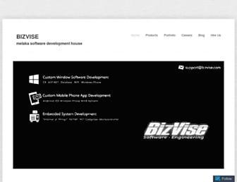bizvise.com screenshot