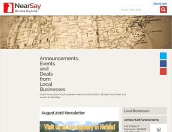 nearsay.com screenshot