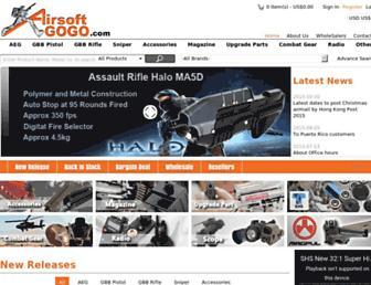 airsoftgogo.com screenshot