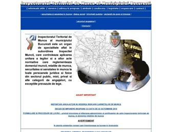 itmbucuresti.ro screenshot