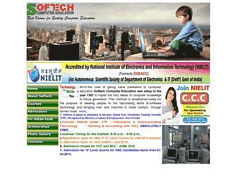 softechcomputereducation.com screenshot
