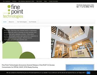 finepoint.com screenshot