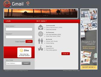 webmail.gmail.co.za screenshot