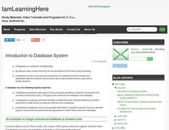 iamlearninghere.blogspot.com screenshot