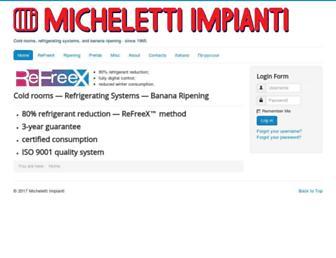 micheletti.org screenshot