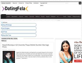 datingfela.com screenshot
