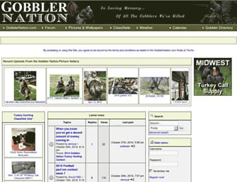 gobblernation.com screenshot