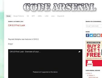 codearsenal.net screenshot