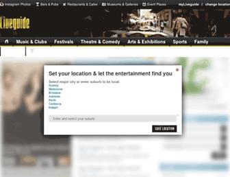 Thumbshot of Liveguide.com.au