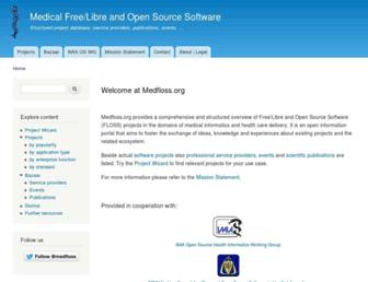 medfloss.org screenshot
