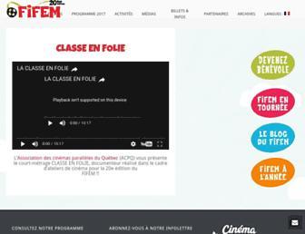 fifem.com screenshot