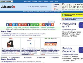 Thumbshot of Abacin.com